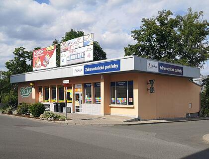 Prodejna DMA - Plzeň