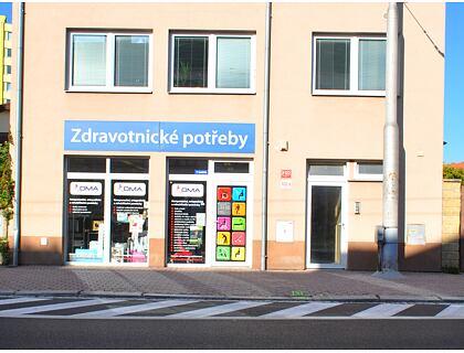 Prodejna České Budějovice - exteriér