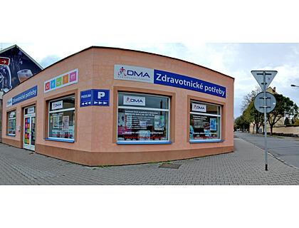 Prodejna Kolín - exteriér