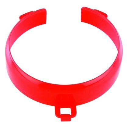 HA 4250 Vyvýšený okraj na talíř - Červený