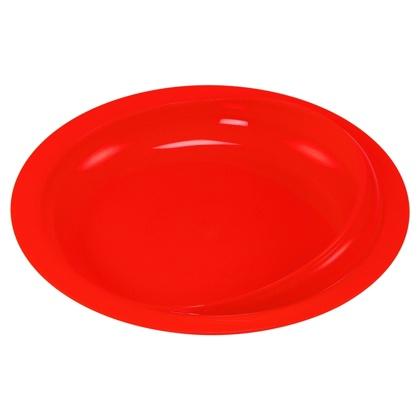 HA 4249 Talíř s vyvýšeným okrajem - Červený